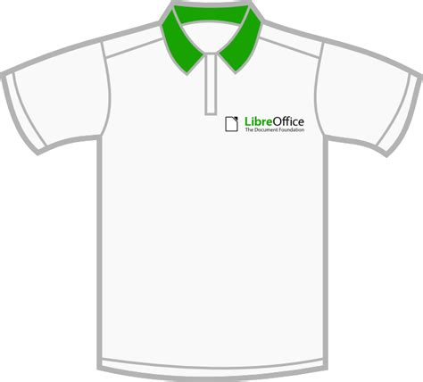 Luxate Oktober 2010 Collar Shirt Design Template