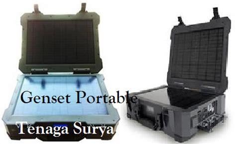 Genset Pompa Air Mini genset portable tenaga surya atau matahari jual genset