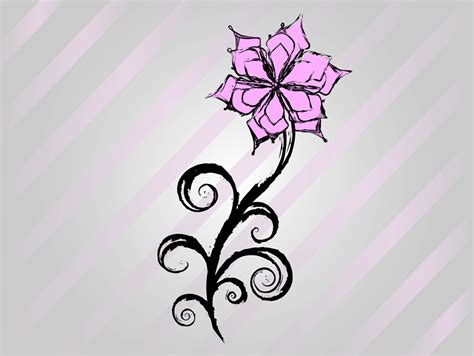 easy floral designs cool easy flower designs to draw on paper free flower