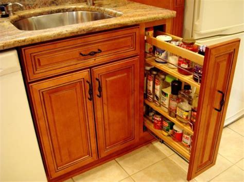 Kitchen Cabinets   9 inch pullout pantry   Kitchens