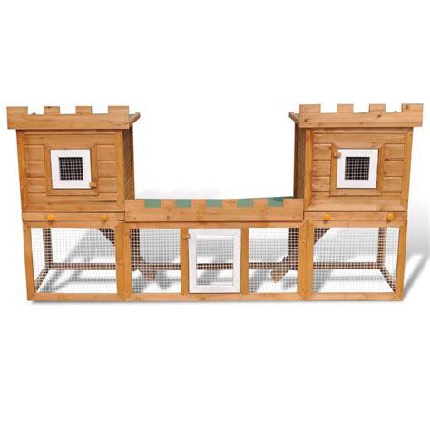 gabbie da esterno per conigli articoli per gabbia due casette per conigli da esterno