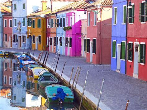 bright homes bright home on a canal on the island of murano italy