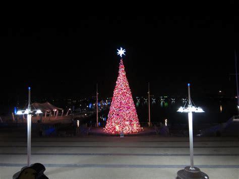 lighting of the christmas tree national harbor where to travel for christmas washington dc student union