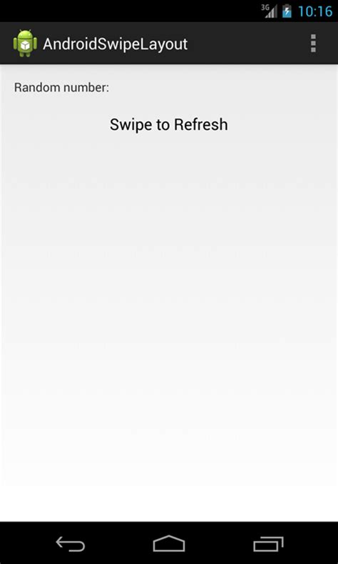 swipe refresh layout xamarin android android swiperefreshlayout tutorial