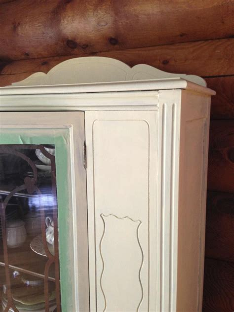 chalk paint not covering chalk paint hutch makeover