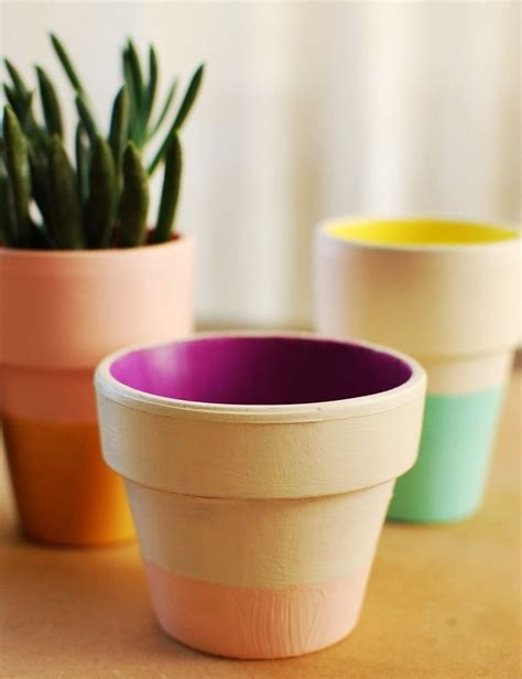 paint terra cotta pots craftimins