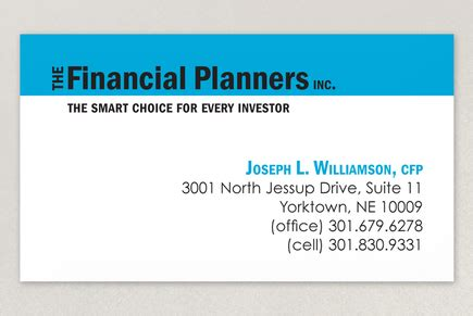financial planning business cards templates the financial planners business card template inkd