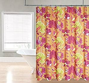 bold floral curtains com regal home collections bold floral printed