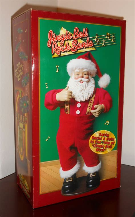 rock santa jingle bells edition 1 sold out jingle bell rock santa edition 1 claus bobby helms singing ltd