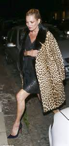 Supermodel Chic by Kate Moss Arrives For Post Gq Awards After Skipping