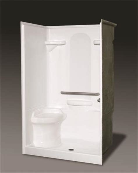 One Fiberglass Shower Stall With Seat by Related Keywords Suggestions For One Shower Stalls