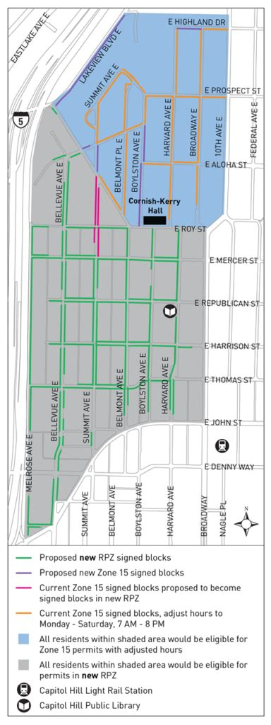 seattle parking zone map capitol hill station is a factor in restricted parking
