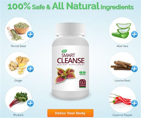 Detox I Rewev by Smart Cleanse Detox Purify Your System Shed Pounds