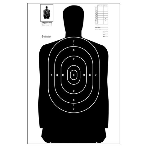 printable law enforcement shooting targets b 27 silhouette target dimensions quotes