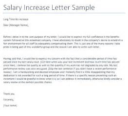salary increase letter to employer template salary increment request letter format writing
