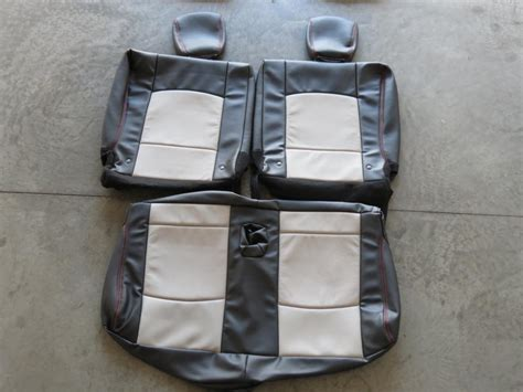 Oem Seat Upholstery by Oem Leather Seat Covers Kmishn