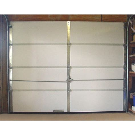 anco products inc garage door insulation garage door insulation kit 8 pieces expanded polystyrene