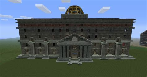 Apartment Layout Design by Discworld City Post Office Ankh Morpork Minecraft Project