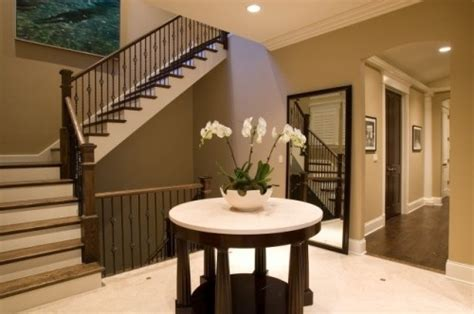 best foyer paint colors light brown dark brown and cream paint color scheme for