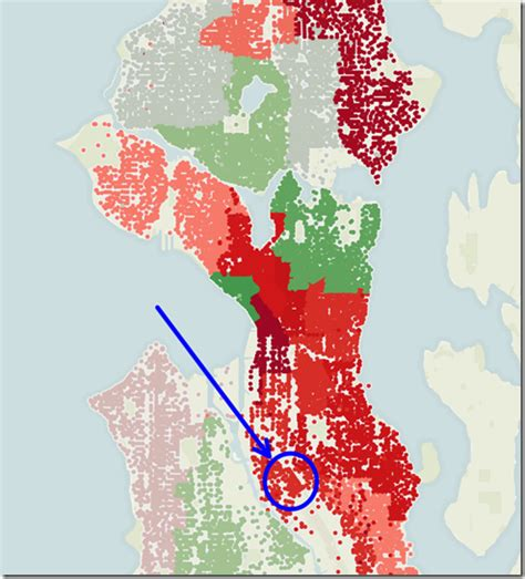 seattle map of crime seattle crime map map3