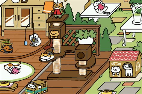 zen layout neko atsume cat collecting game neko atsume is getting a live action