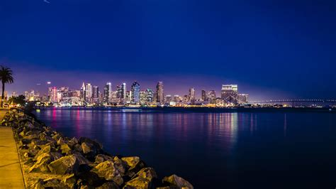 San Diego by Skyline