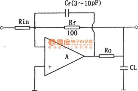 lifier circuit with capacitor the compensation circuit of op output capacitor lifier circuit circuit diagram