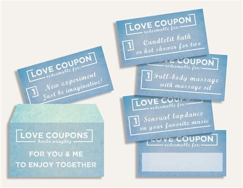 fun love coupon book gift for her 12 funny printable coupons for