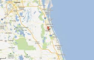map palm bay florida fresh canal water front luxury buildable lot in palm bay