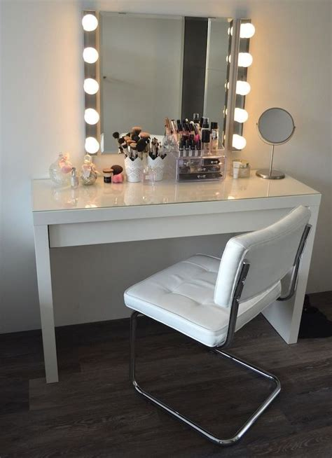 makeup vanity desk with lights makeup vanity table furniture ideas home interior design
