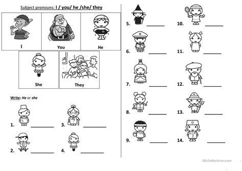 pronoun worksheet kindergarten pronoun worksheet for kindergarten pronoun best free printable worksheets