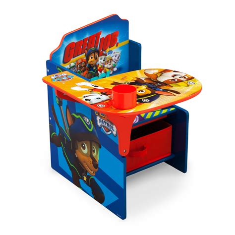 paw patrol desk chair delta children nick jr paw patrol kids desk chair with