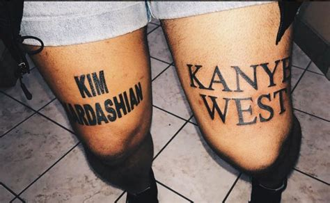 does kim kardashian have tattoos gives approval to fan who has