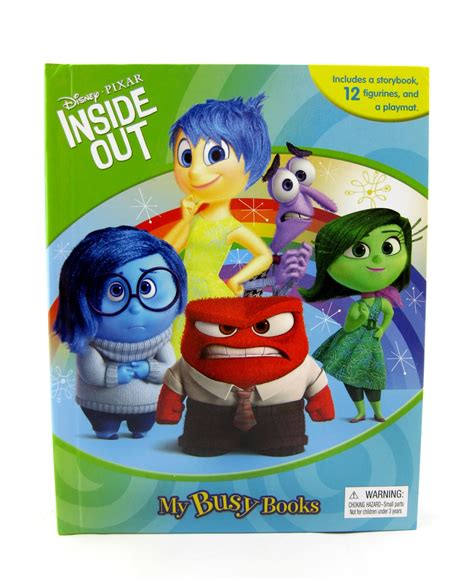 inside outside books dan the pixar fan inside out quot my busy books quot
