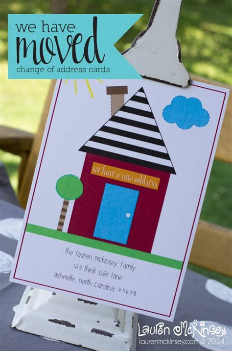 printable moving house cards 200 best new home cards images on pinterest handmade