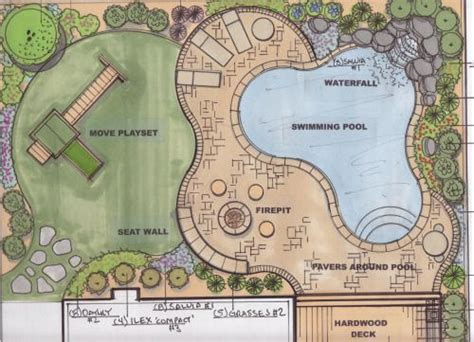backyard plan 17 best images about ld plans on pinterest gardens