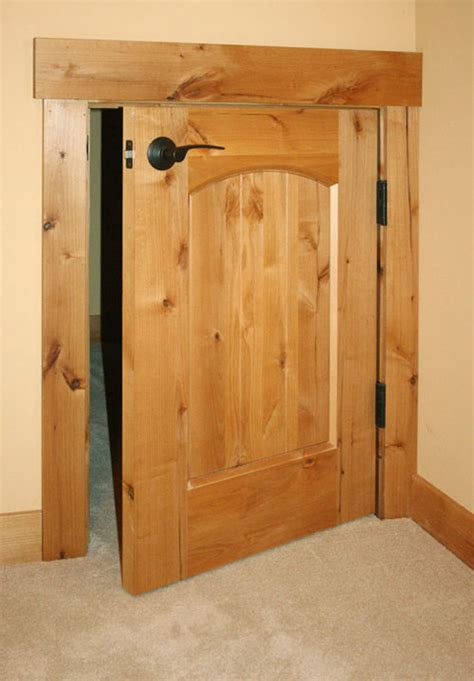 Small Doors Custom Small Wood Door Custom Doors Gallery