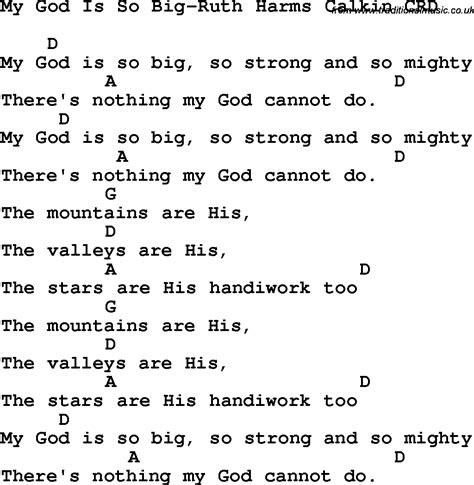 Superb Church Guitar Chords #5: My_god_is_so_big-ruth_harms_calkin_crd.png