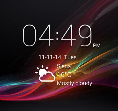 clock themes for lenovo lenovo lockscreen widget for xwidget by jimking on deviantart