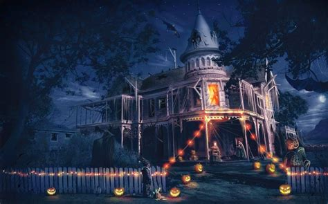 terror nights haunted house halloween scary horror nights scarecrow pumpkin haunted