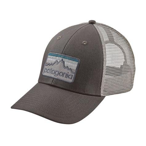 Topi Hat Trucker The Black patagonia line logo badge lopro trucker hat fontana sports