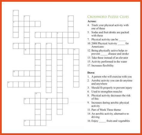 crossword puzzle template crossword puzzle templates photos exle resume