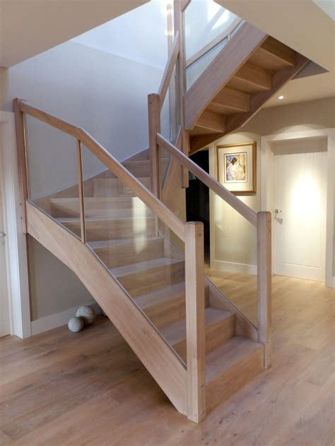 wood stair case modern wooden staircase braishfield hshiretimber