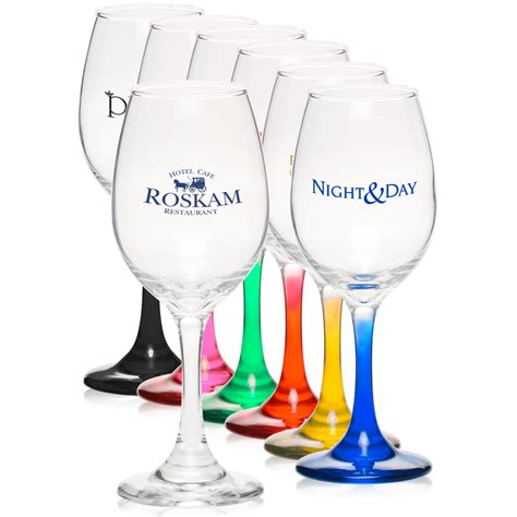 personalized 10 oz rioja wine glasses 5414al discountmugs