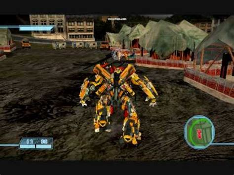 transformers the game demo youtube