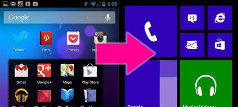 tutorial android phone convierte tu m 243 vil android en un windows phone uptodown blog