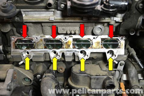 small engine maintenance and repair 2006 volkswagen gti seat position control volkswagen golf gti mk v intake valve cleaning 2006 2009 pelican parts diy maintenance article