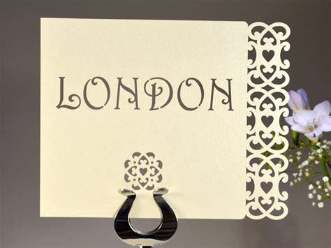 forever customised wedding table name cards to personalise