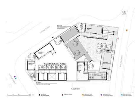 floor plan services community green station hong kong architectural services department archdaily