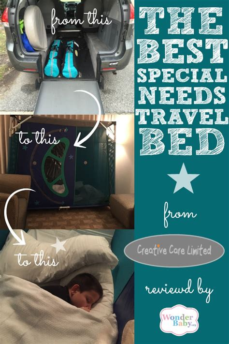 special needs bed the perfect special needs travel bed wonderbaby org